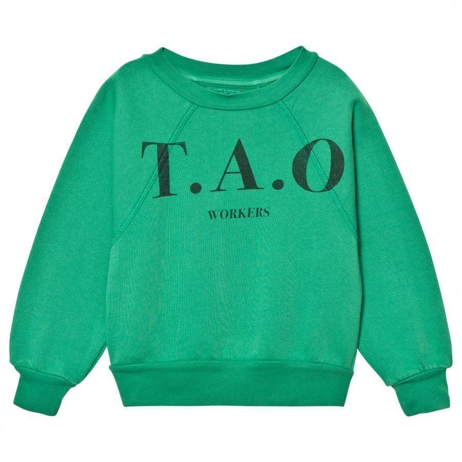 The Animals Observatory Shark Sweatshirt Green Tao Workers Oloasun Paita