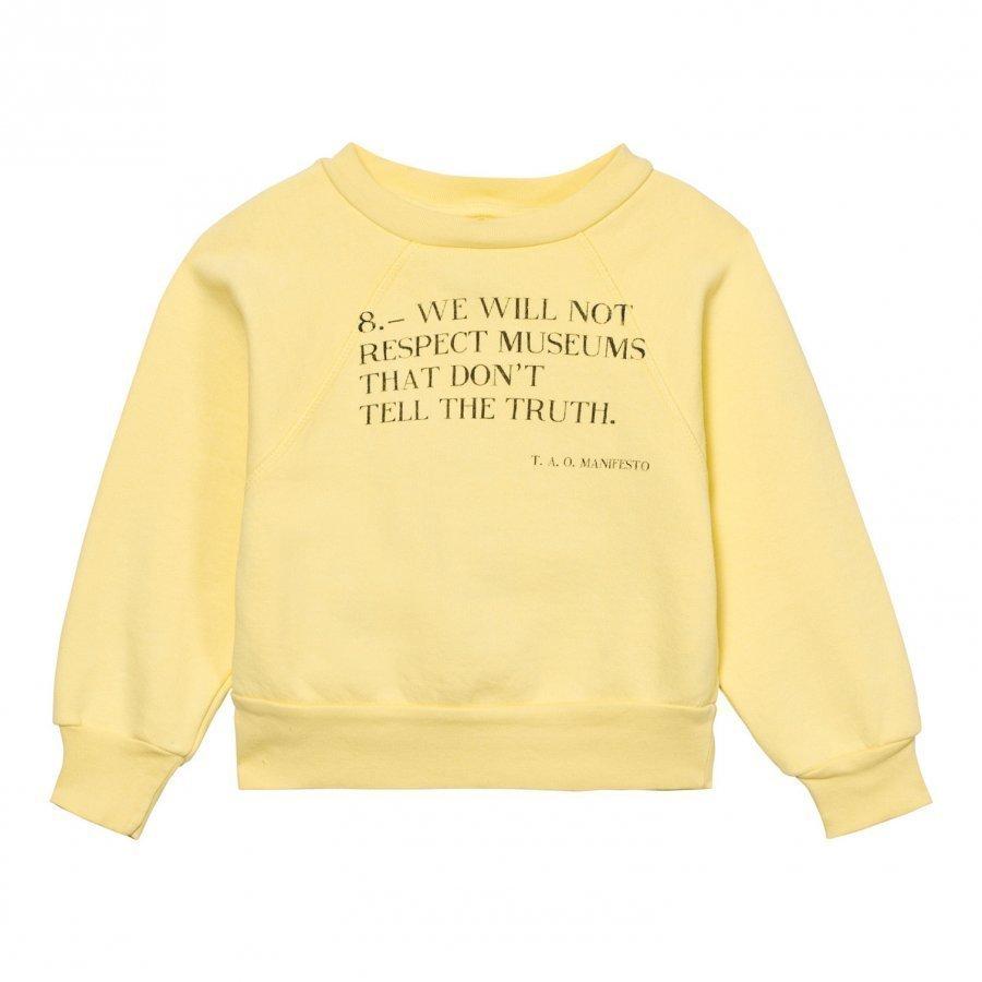 The Animals Observatory Shark Sweatshirt Vanilla Manifesto Oloasun Paita