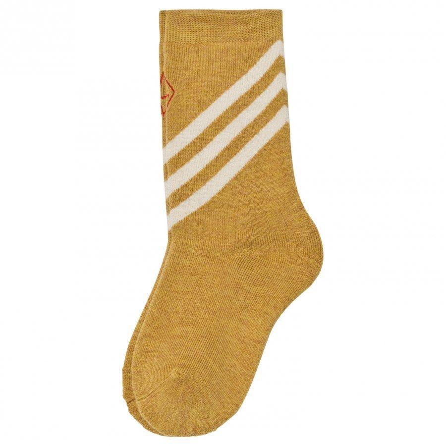 The Animals Observatory Skunk Socks Yellow Sukat