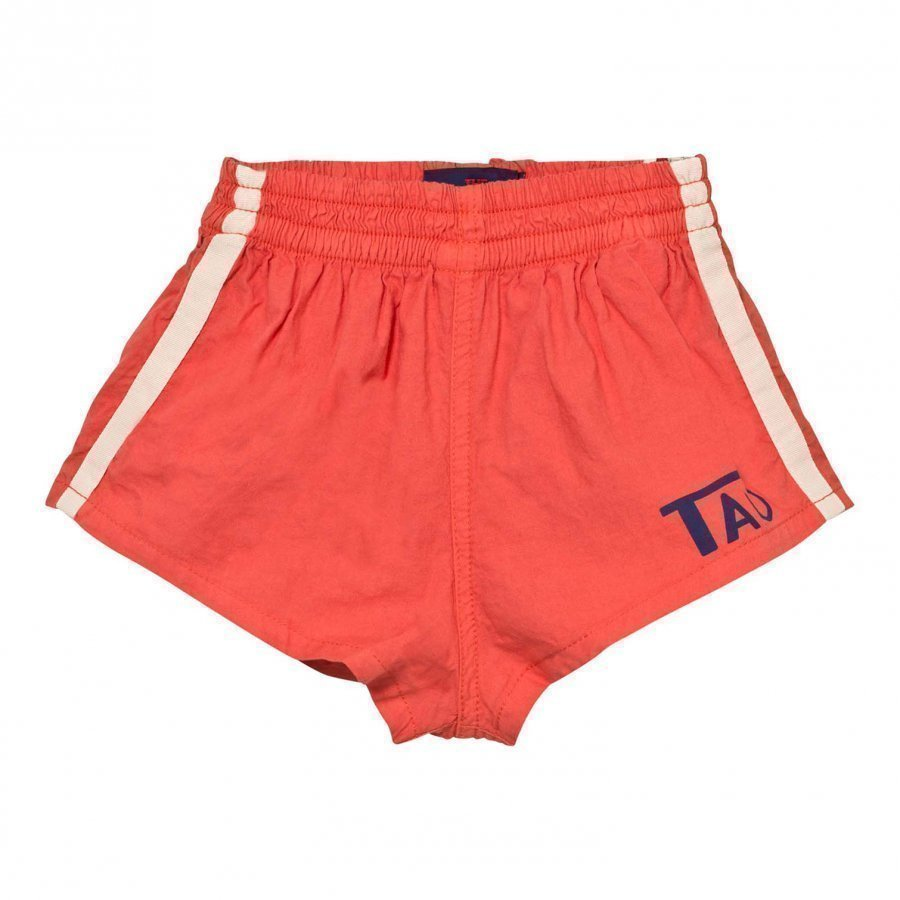 The Animals Observatory Spider Bermuda Shorts Red Tao Logo Urheilushortsit