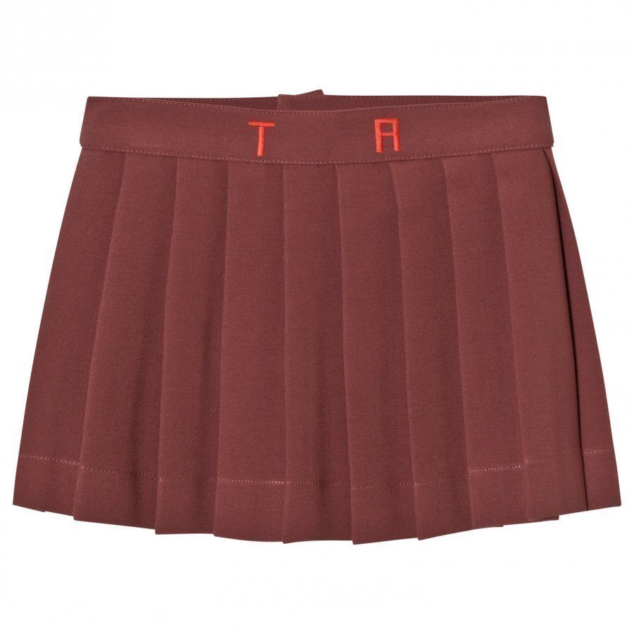 The Animals Observatory Turkey Skirt Red Garnet Tao Initials Kellohame