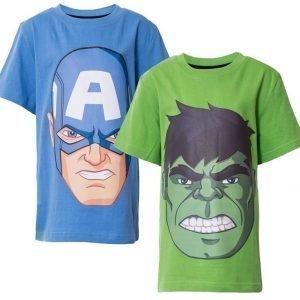 The Avengers T-paita 2 kpl