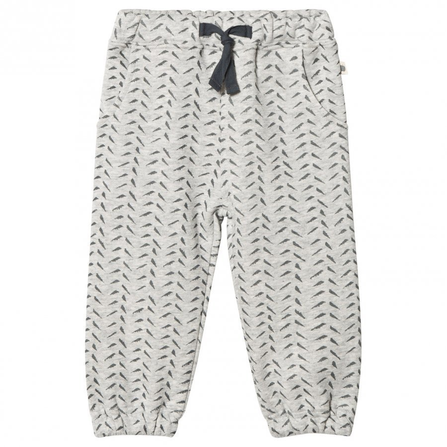 The Bonnie Mob Bamboo Print Jogging Pants Grey Housut