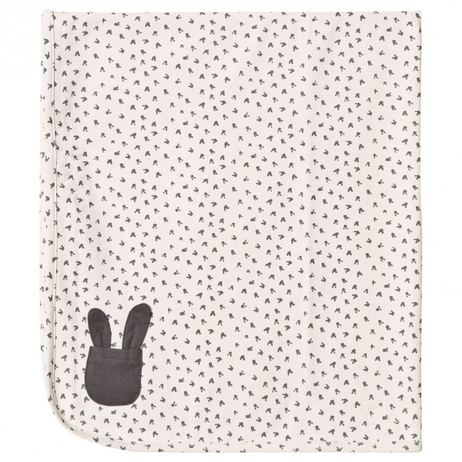 The Bonnie Mob Bunny Print Blanket Sand Huopa