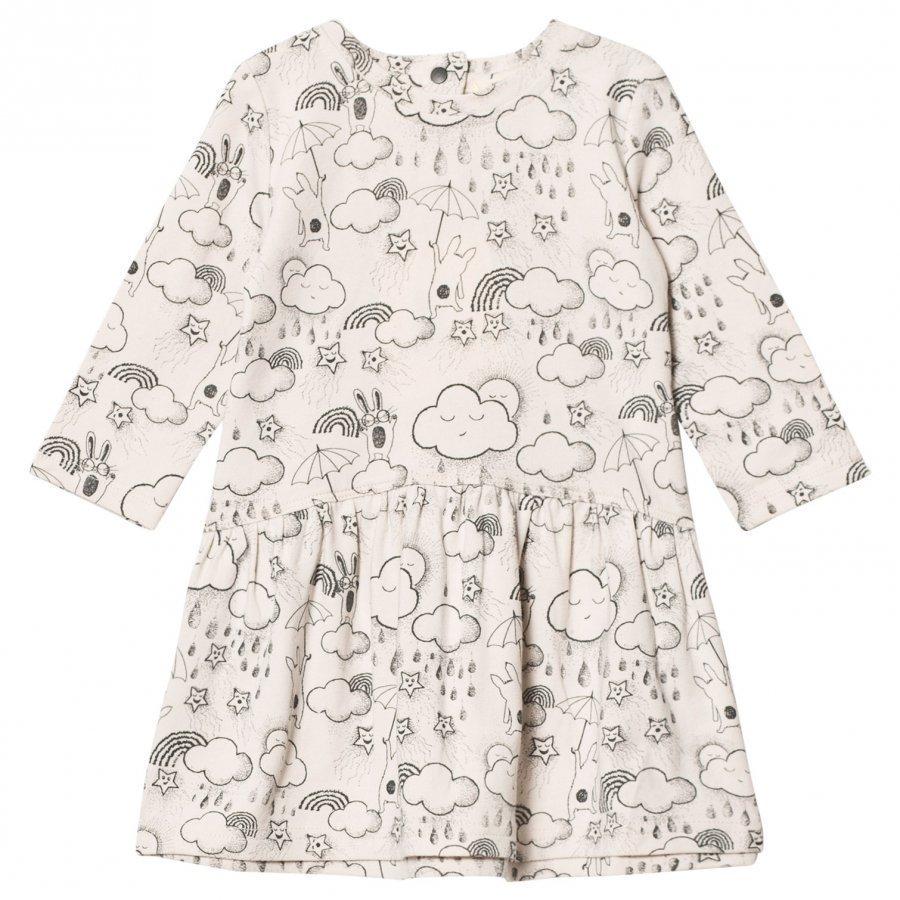 The Bonnie Mob Dress A-Line Print Sand Mekko