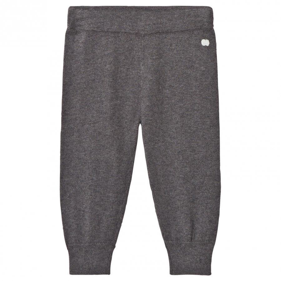 The Bonnie Mob Knitted Jogging Pants Dark Grey Verryttelyhousut