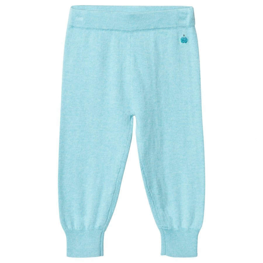 The Bonnie Mob Knitted Jogging Pants Pale Blue Verryttelyhousut