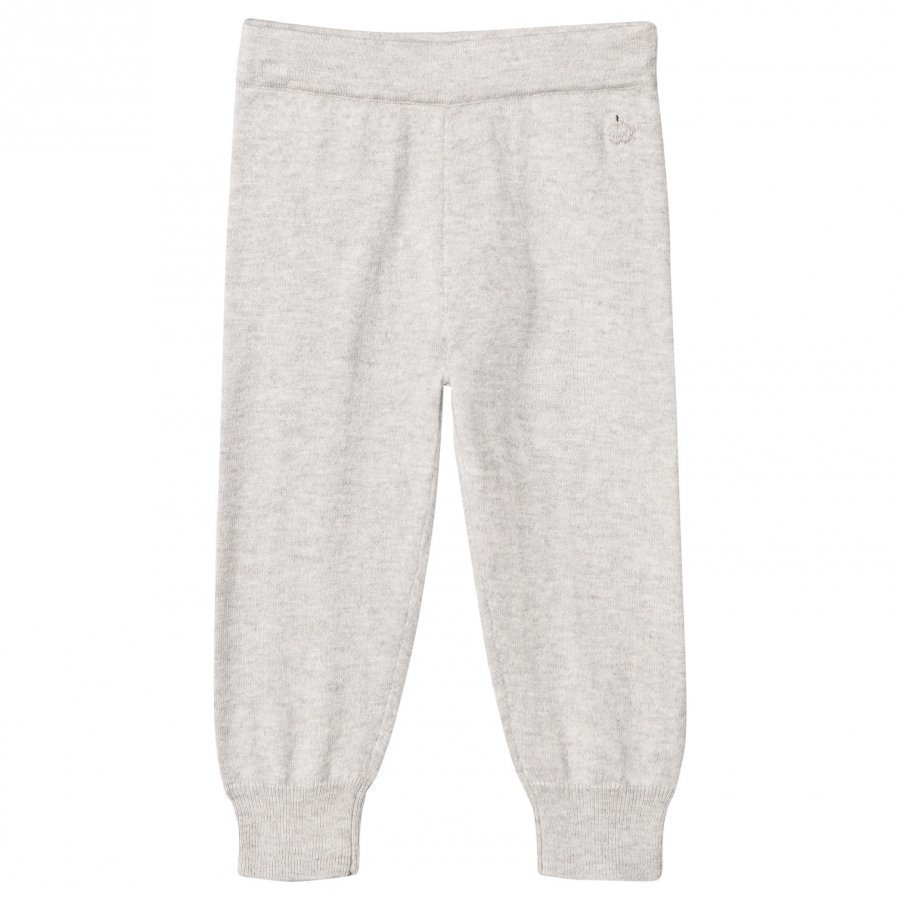 The Bonnie Mob Knitted Jogging Pants Pale Grey Verryttelyhousut