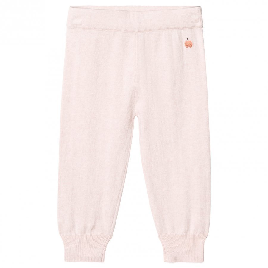 The Bonnie Mob Knitted Jogging Pants Pale Pink Verryttelyhousut