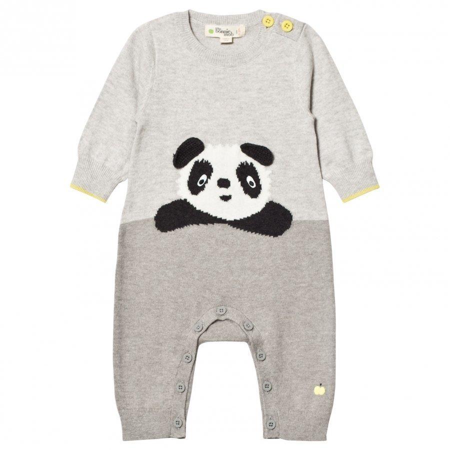 The Bonnie Mob Panda Intarsia One-Piece Grey Body