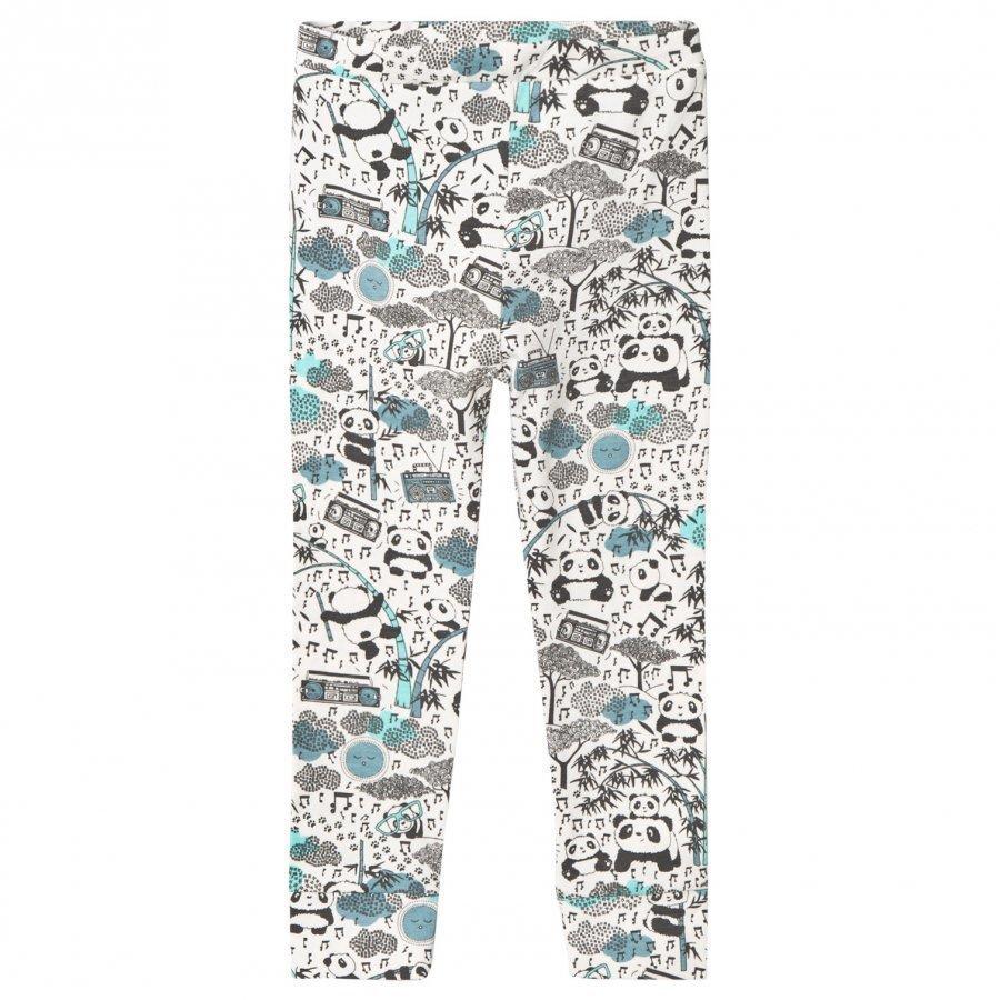 The Bonnie Mob Panda Print Leggings Blue Legginsit