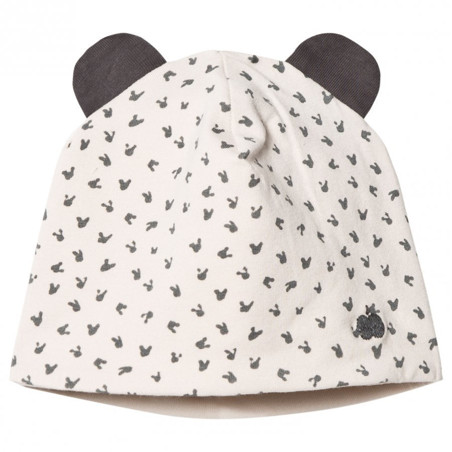 The Bonnie Mob Reversible Baby Beanie Bunny Hat Sand Pipo