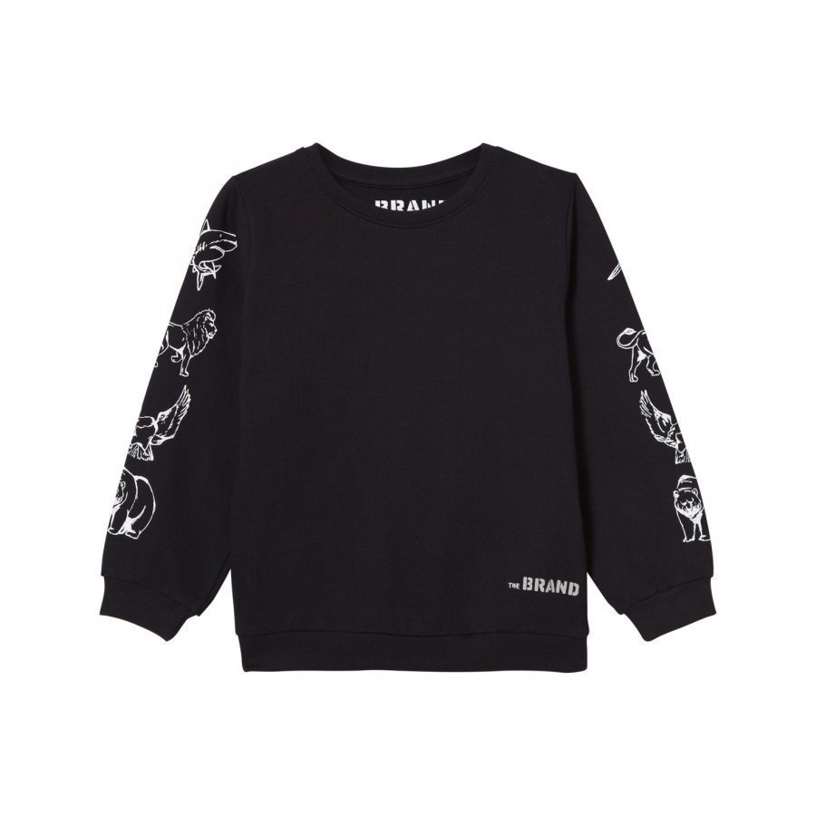 The Brand Animal Sweater Black Oloasun Paita