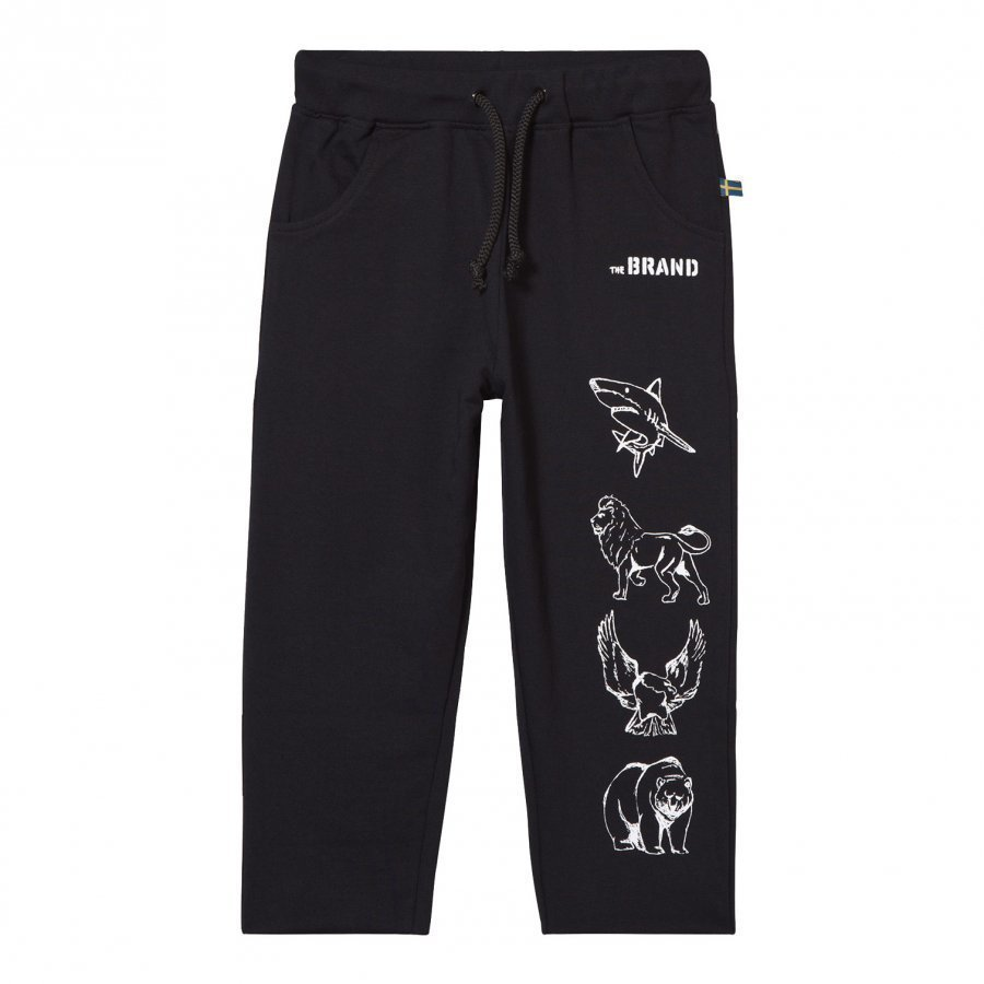 The Brand Animal Sweatpants Black Verryttelyhousut