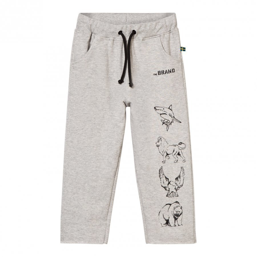 The Brand Animal Sweatpants Grey Melange Verryttelyhousut
