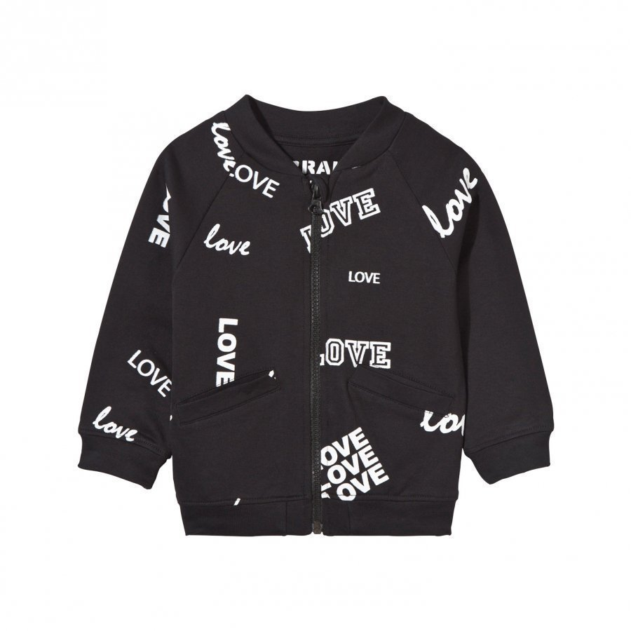 The Brand Baby Bomber Black Love Bomber Takki