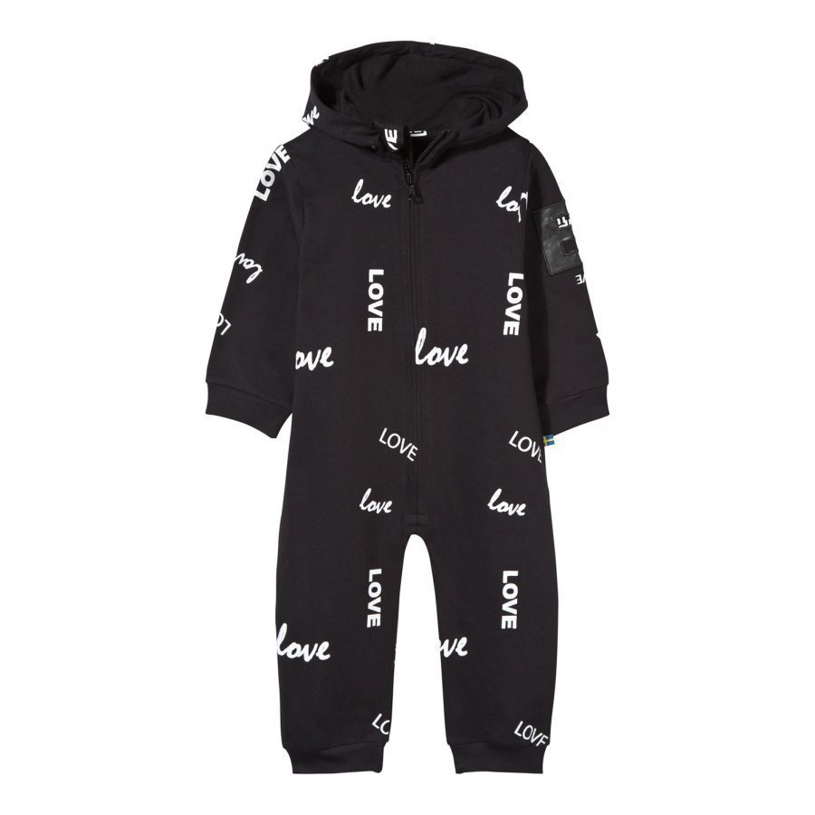The Brand Baby One-Piece Black Love Kokopuku