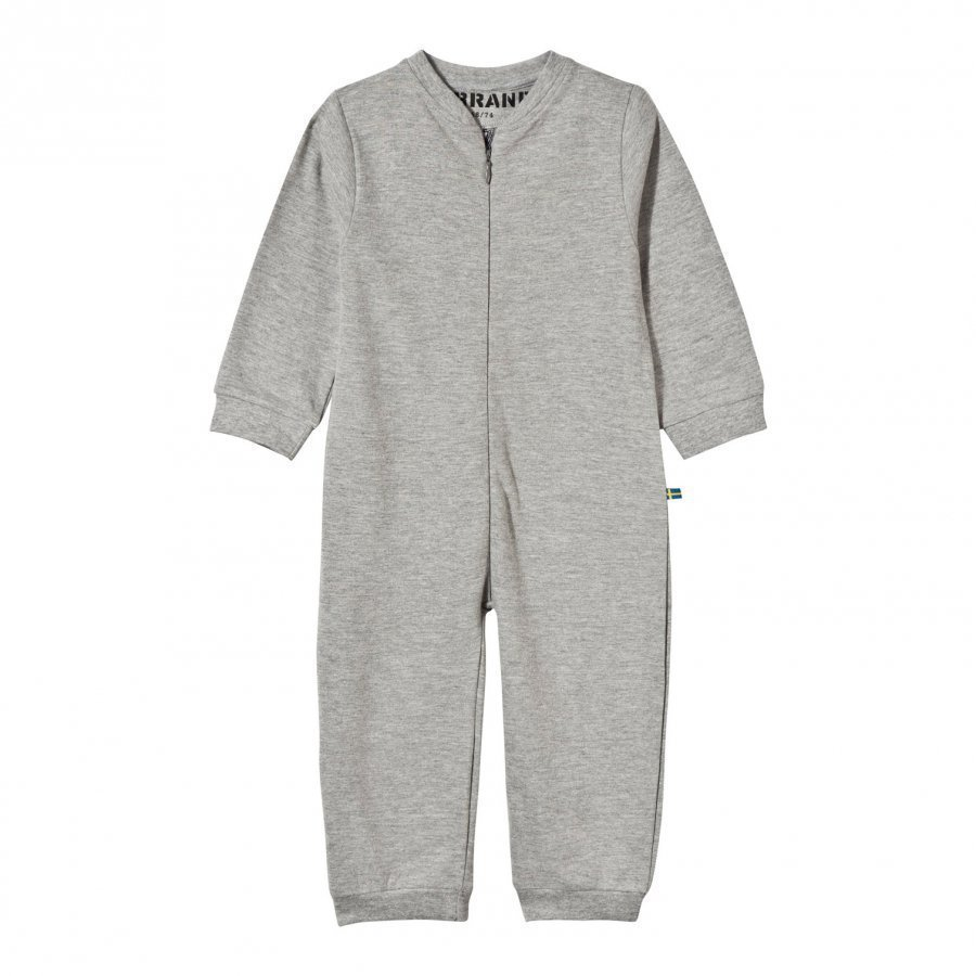 The Brand Baby One-Piece Grey Mel Body