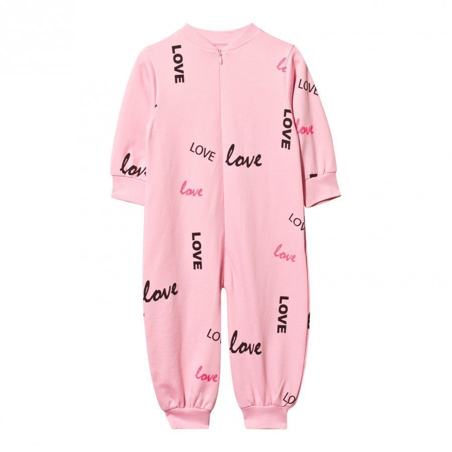 The Brand Baby One-Piece Pink Love Body