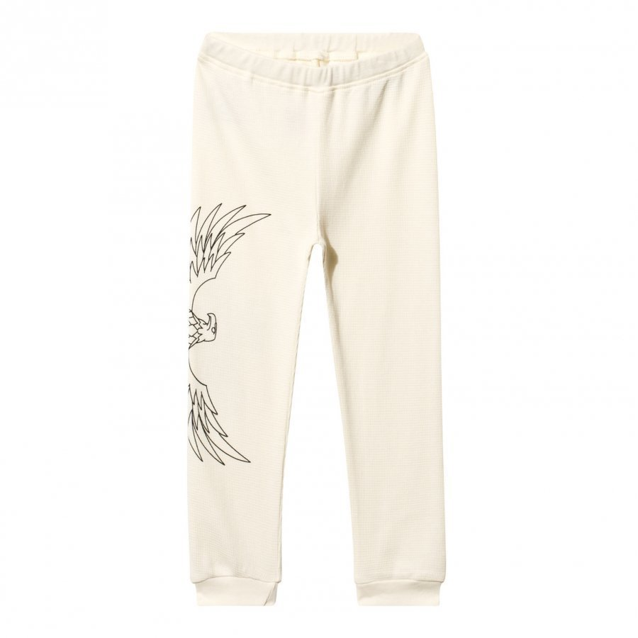 The Brand Baby Waffle Pant Off White Verryttelyhousut
