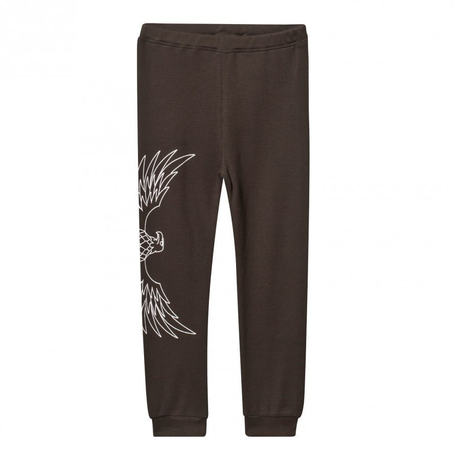 The Brand Baby Waffle Pants Almost Black Verryttelyhousut