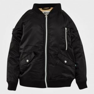 The Brand Bomb Jacket Black Bomber Takki
