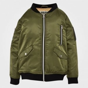 The Brand Bomb Jacket Olive Green Bomber Takki