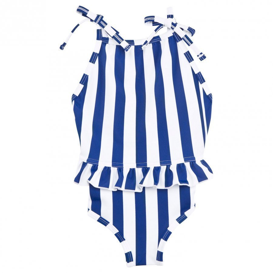 The Brand Bow Bikinit Sininen/Valkoinen Uimapuku