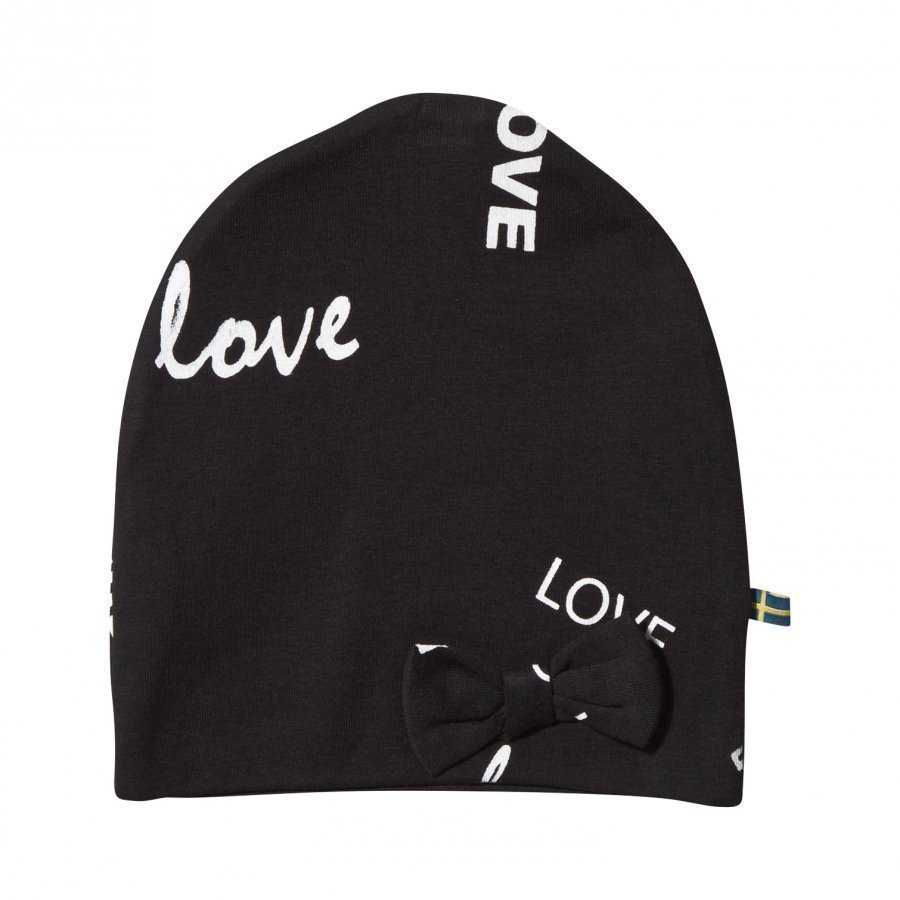 The Brand Bow Hat Black Love Pipo