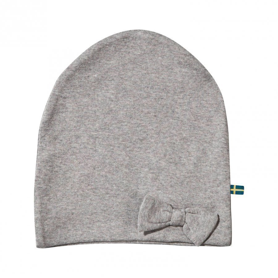 The Brand Bow Hat Grey Melange Pipo