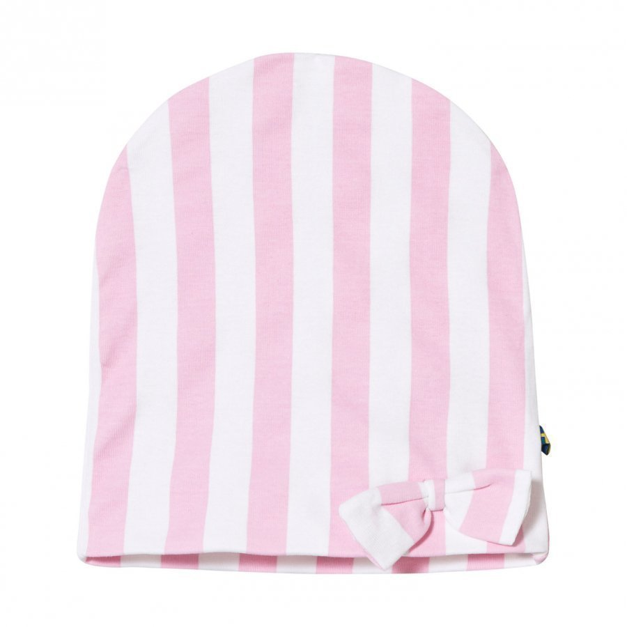 The Brand Bow Hat Pink Stripe Pipo