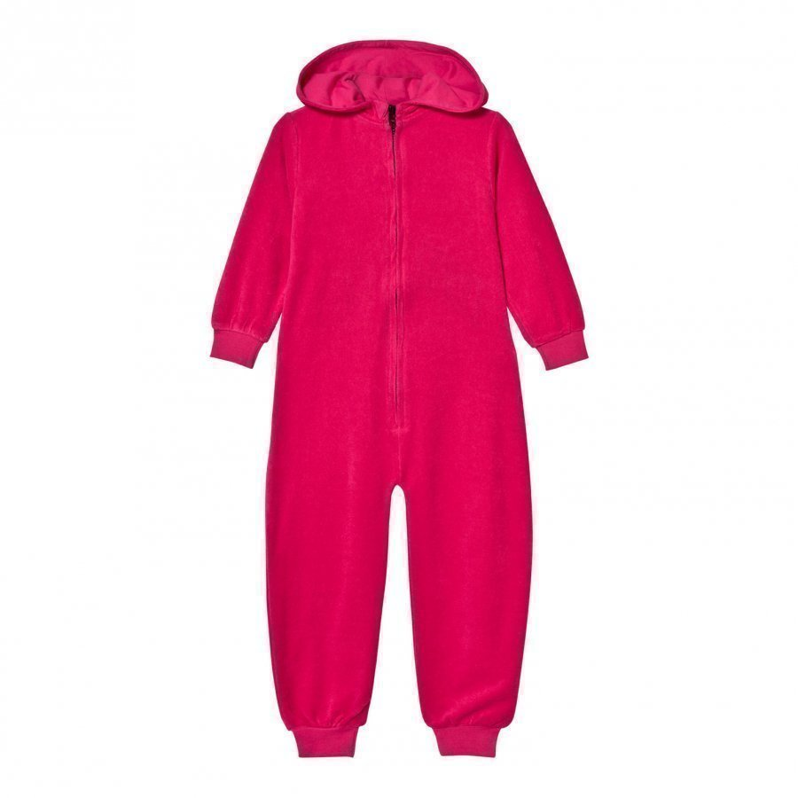 The Brand Cotton Terry Onesie Pink Potkupuku