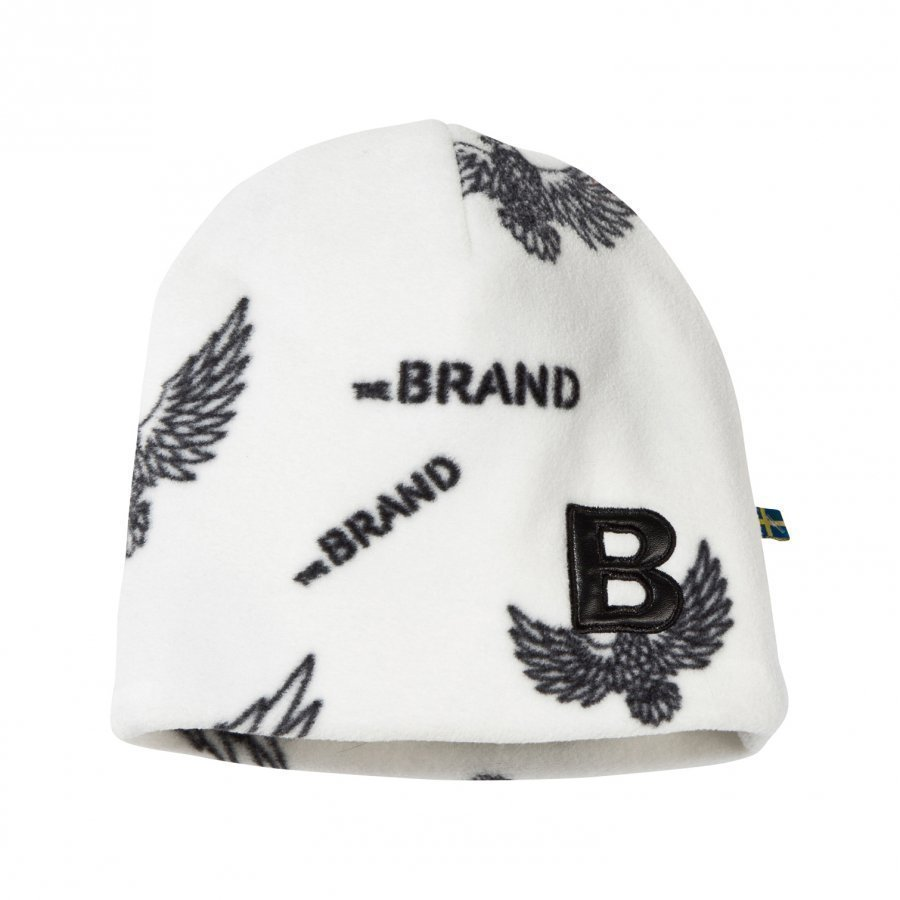 The Brand Fleece Hat Off White Eagles Pipo