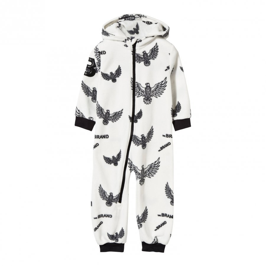 The Brand Fleece Onesie Off White Eagles Fleece Haalarit