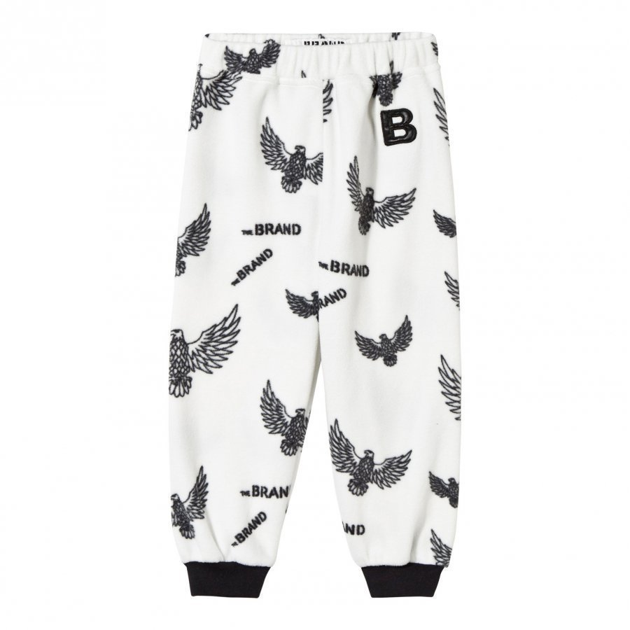 The Brand Fleece Pants Off White Eagles Fleece Housut