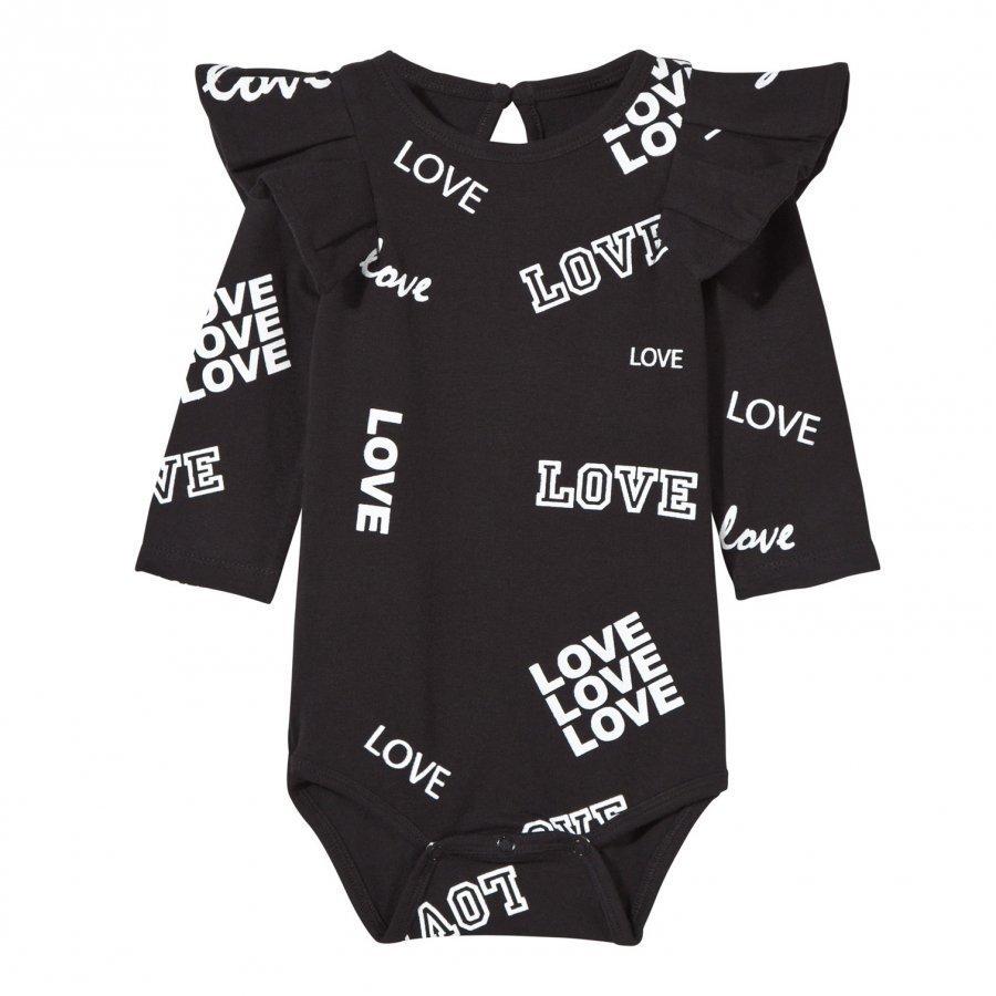 The Brand Flounce Baby Body Black Love Body