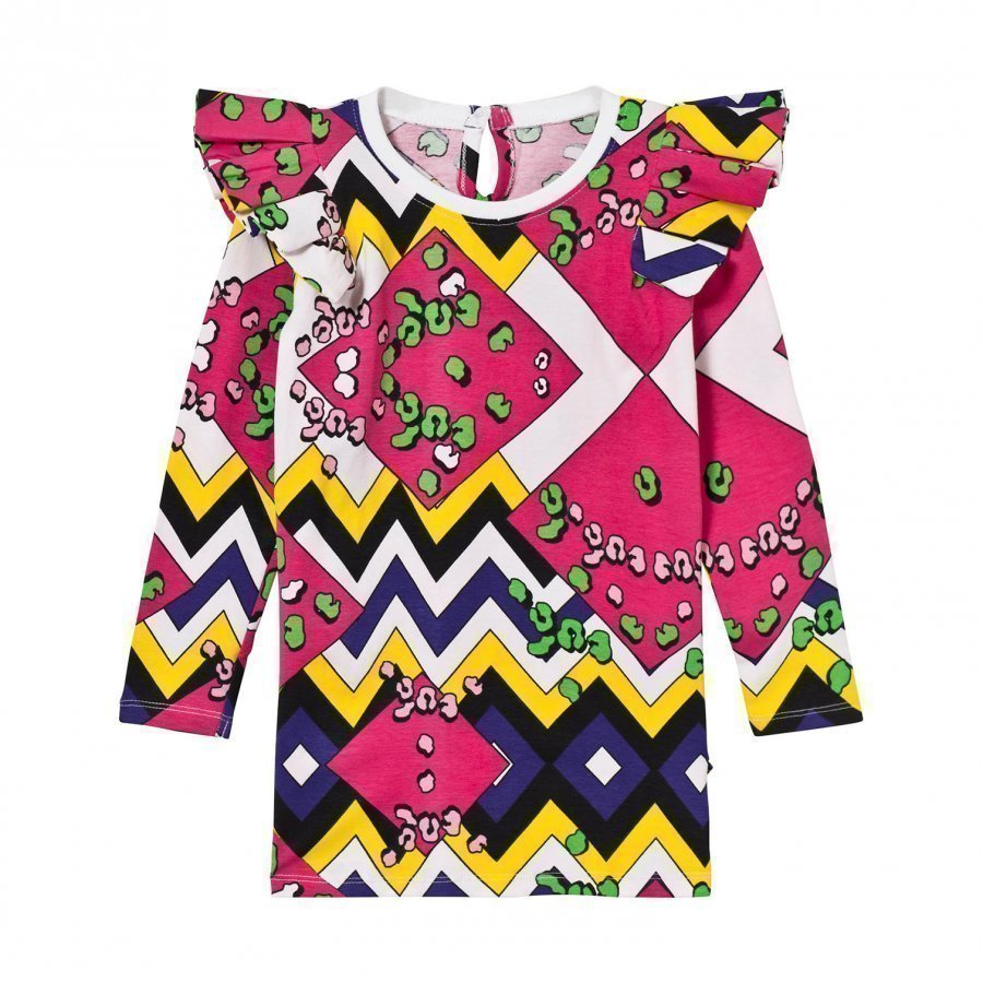 The Brand Flounce Dress Multi Color Mekko