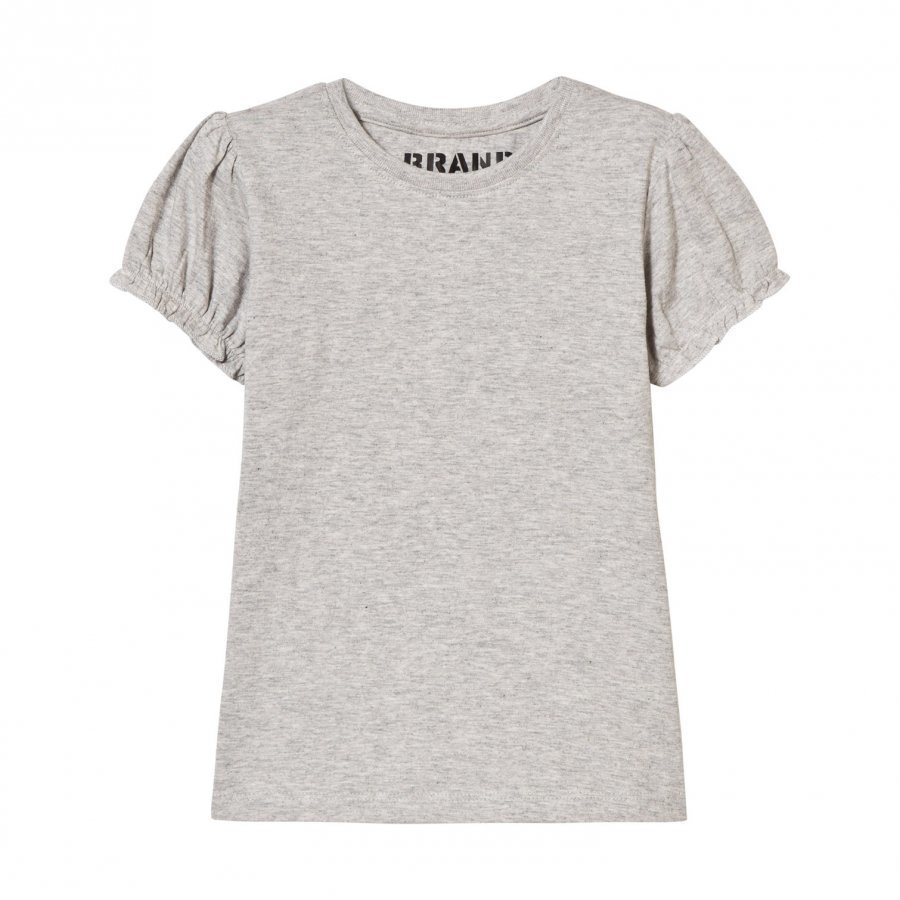 The Brand Girly Tee Grey Melange Pusero