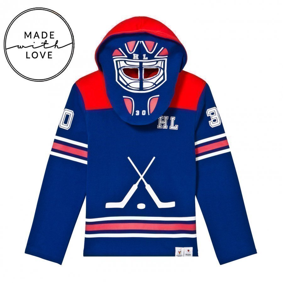 The Brand Goalie Hoodie Red/Blue Oloasun Paita