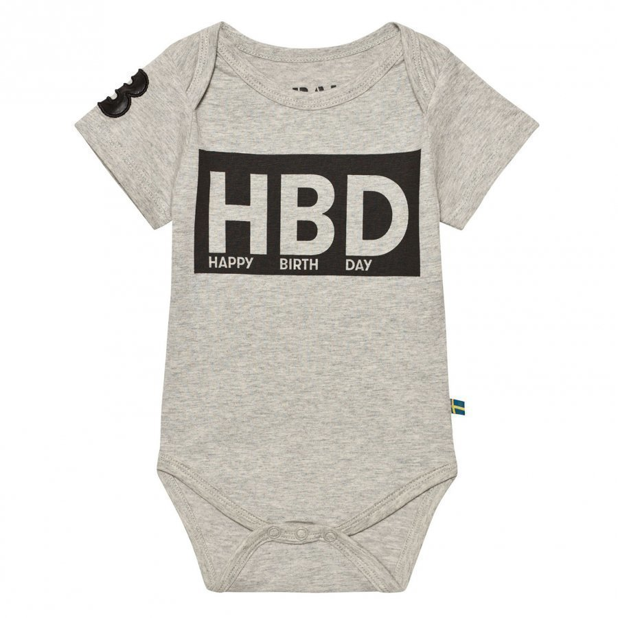 The Brand Hbd Baby Body Grey Mel Body