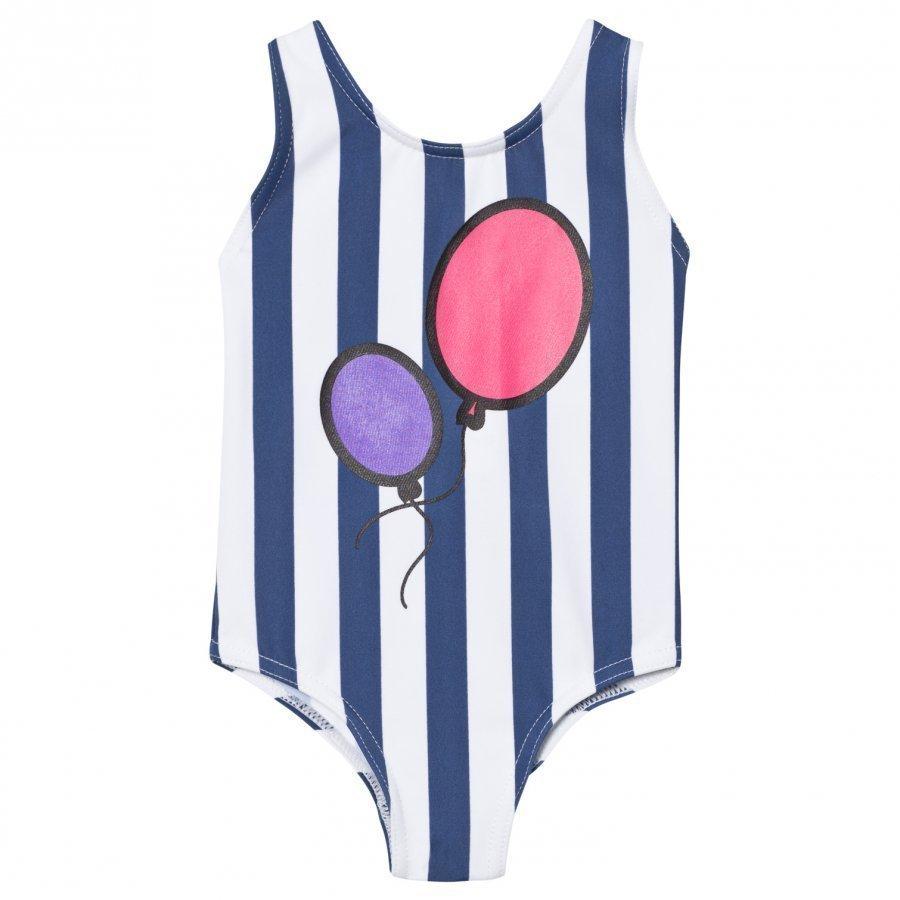 The Brand Hbd Swim Suit Blue Stripe Uimapuku