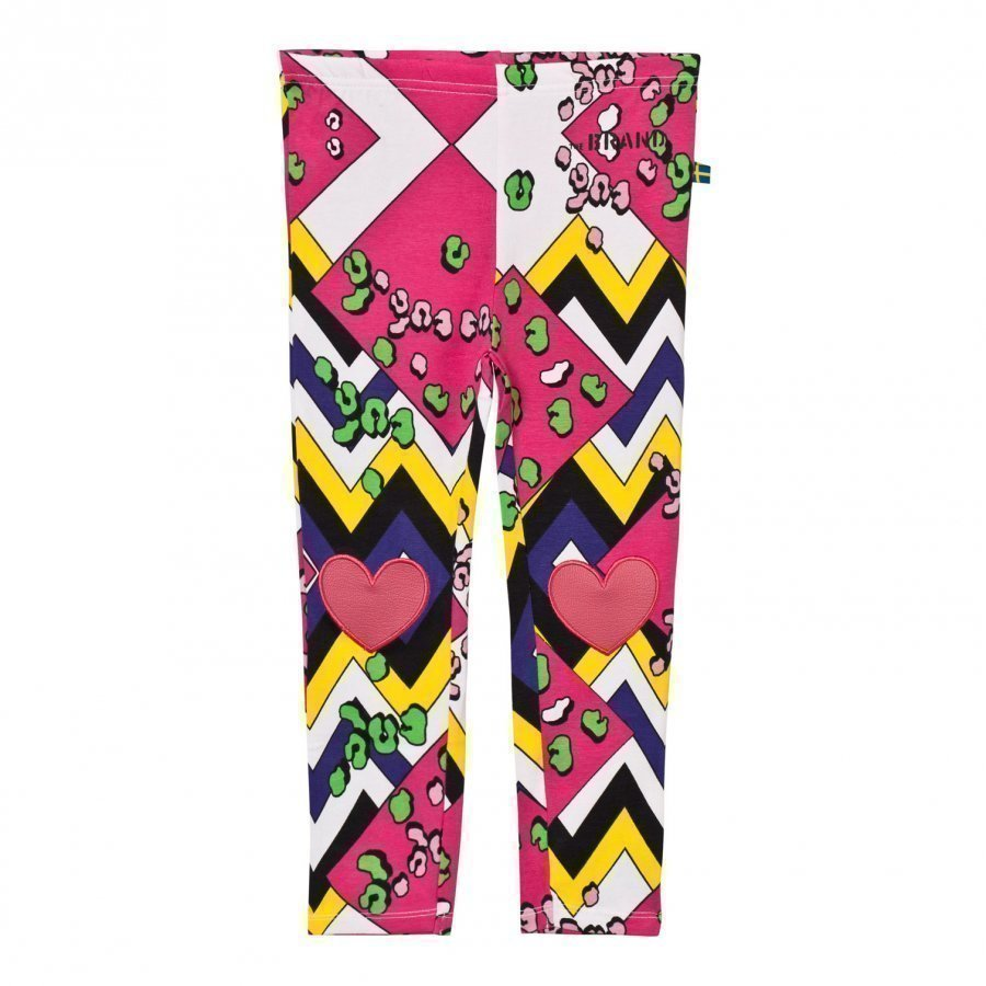 The Brand Heart Leggings Multi Color Legginsit