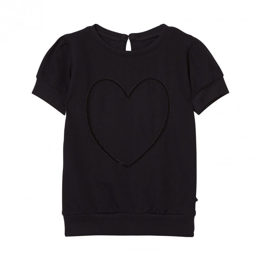 The Brand Heart Top Black T-Paita