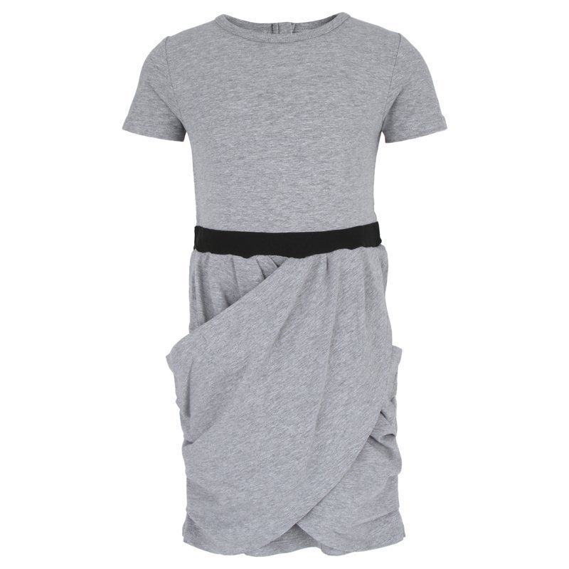 The Brand Hidden Dress Grey Mel Mekko