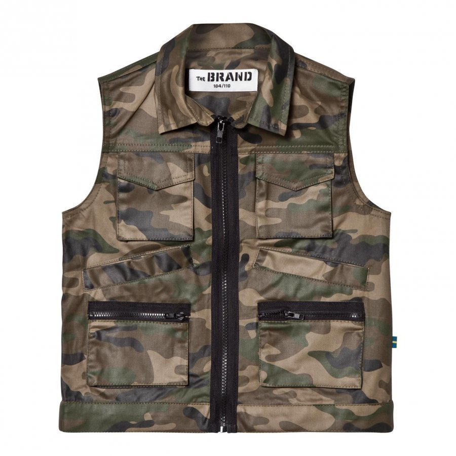 The Brand Hunter Vest Camo Toppaliivi