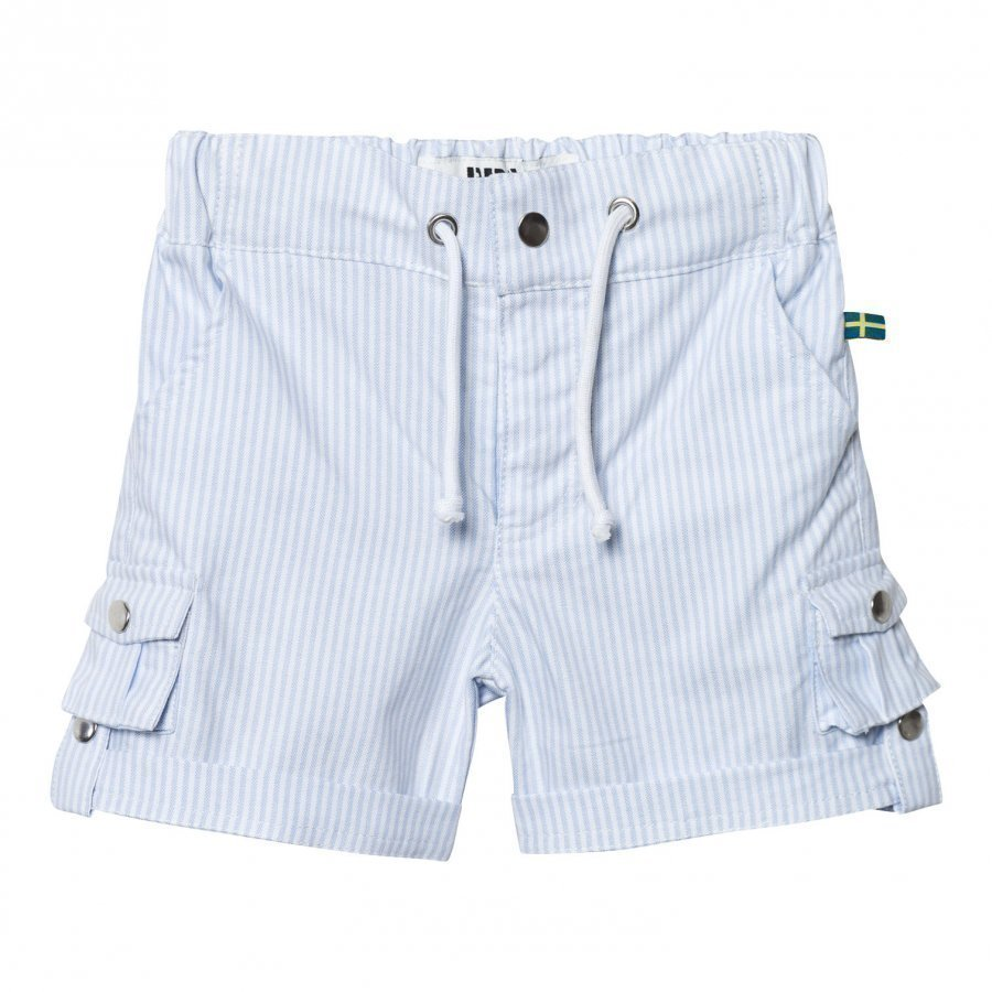 The Brand Khaki Shorts Thin Blue Stripe Classic Shortsit