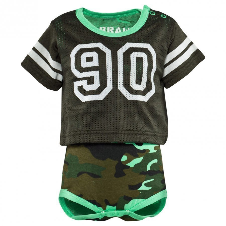 The Brand Laila Bagge Fotball Body Camo/Dark Green Body