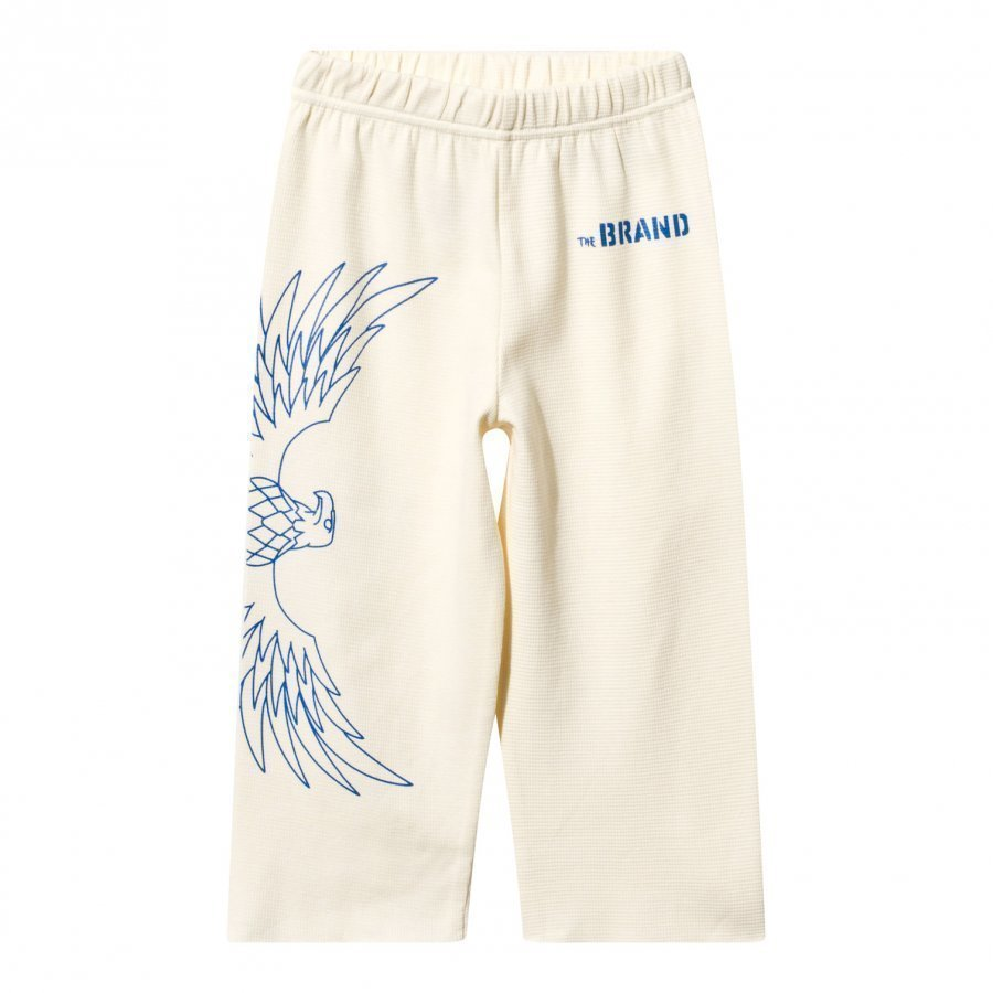 The Brand Loose Waffle Sweatpant Off White Verryttelyhousut