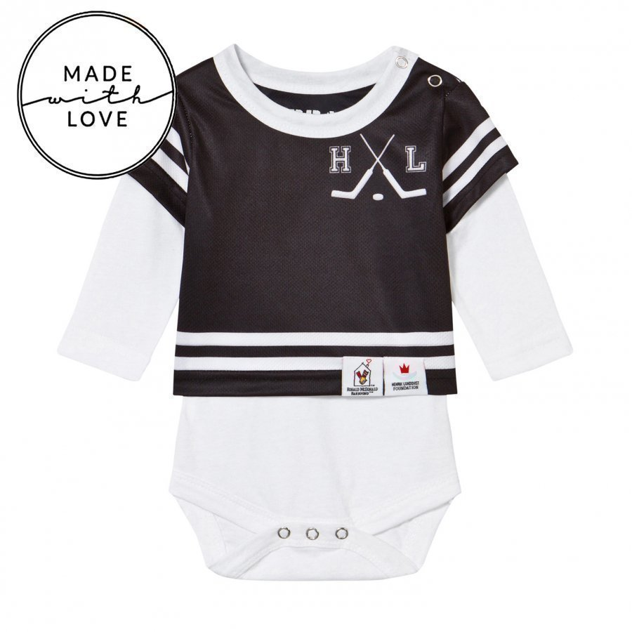 The Brand Make A Save Baby Body Black/White Body