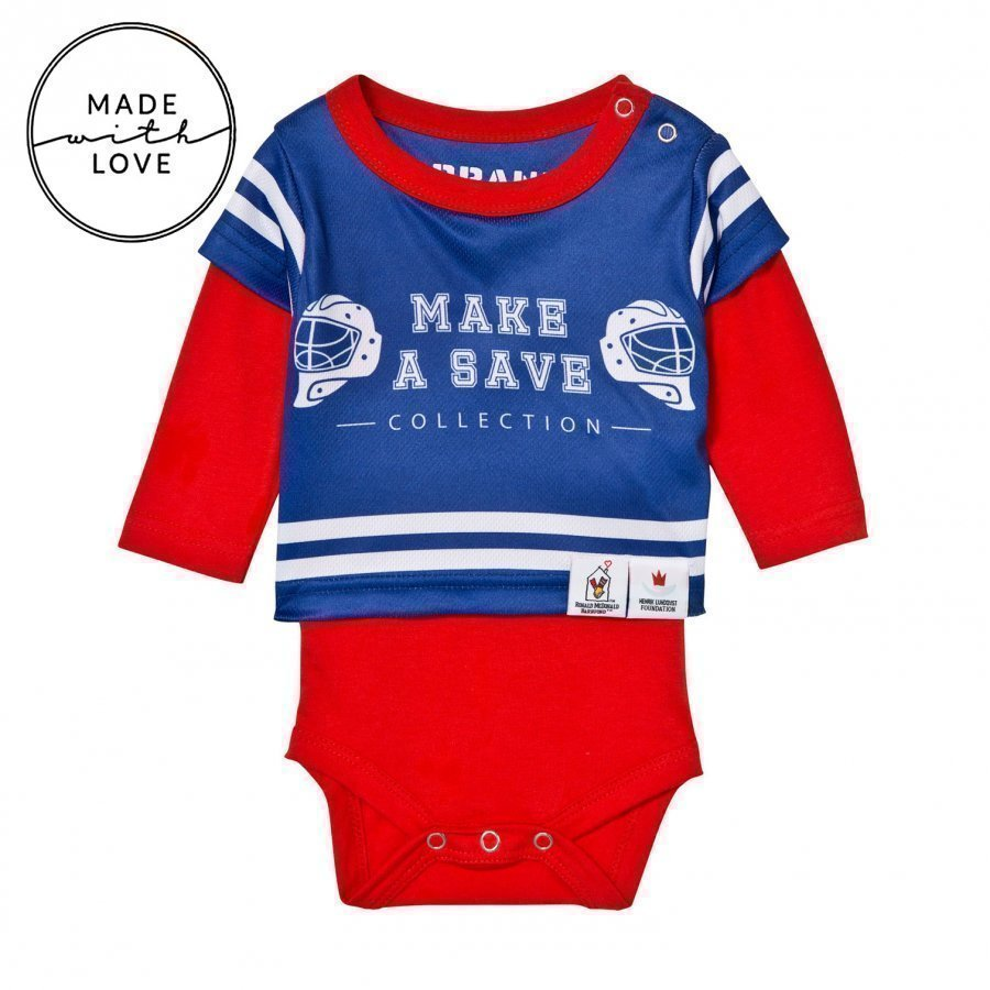 The Brand Make A Save Baby Body Red/Blue Body